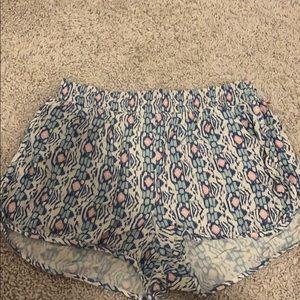 Hollister patterned shorts